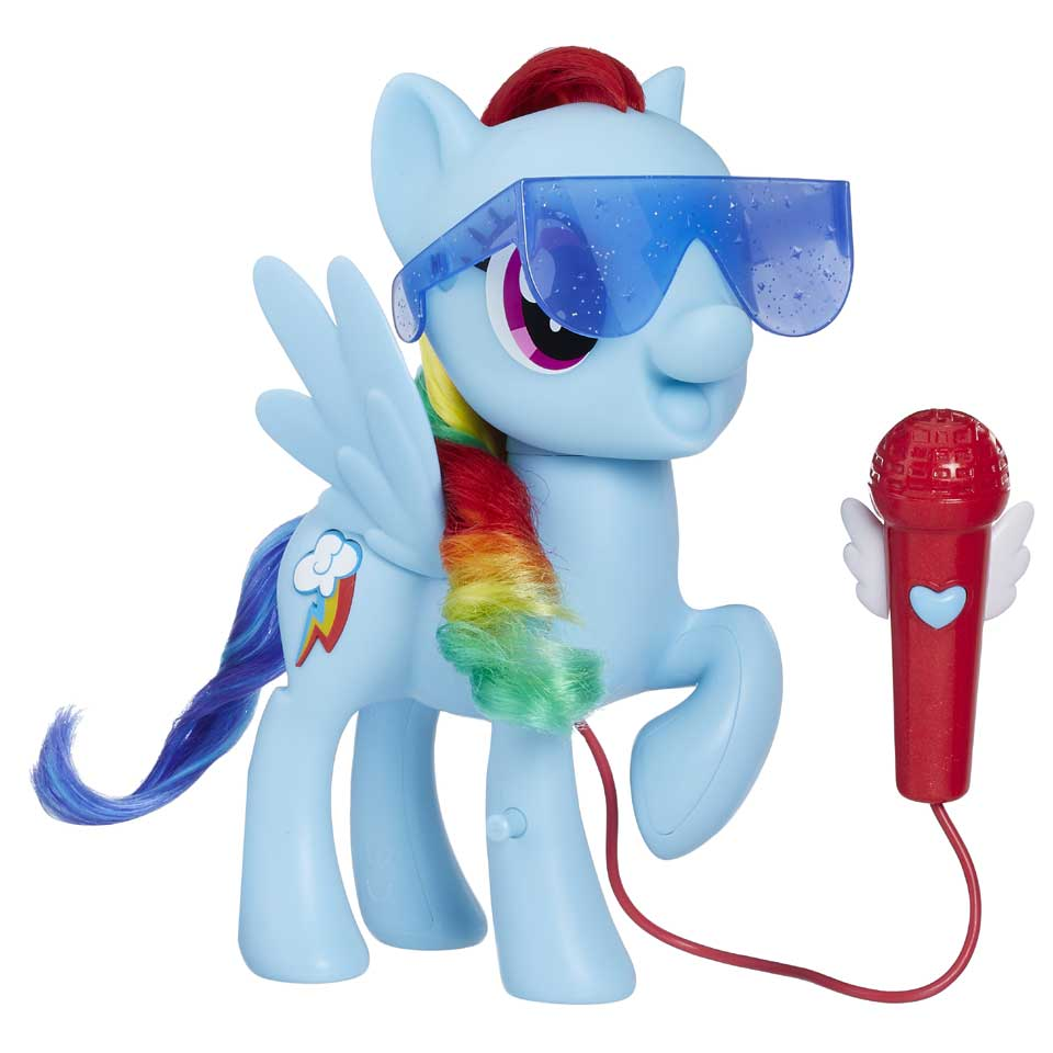 My Little Pony zingend speelfiguur Rainbow Dash
