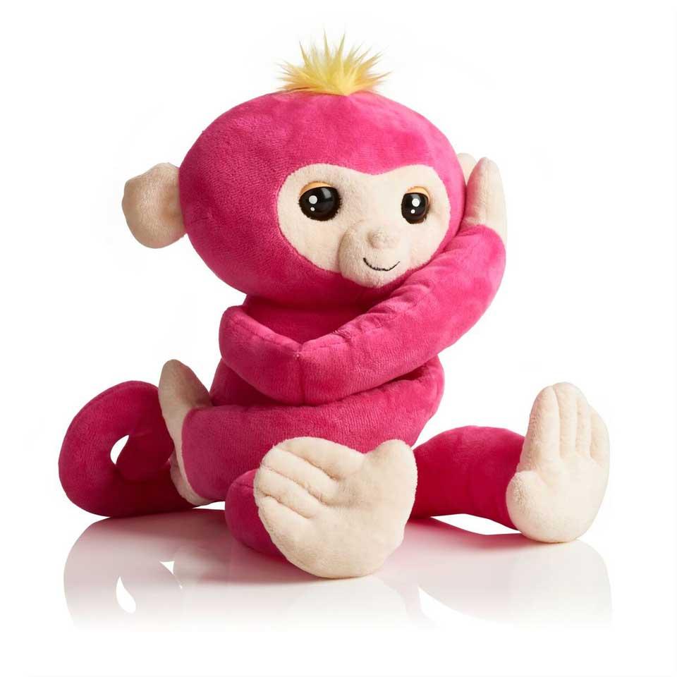 Fingerlings HUGS knuffel - roze