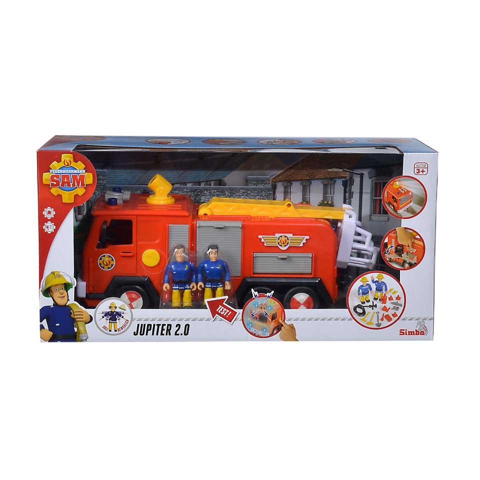 Brandweerman Sam brandweerwagen Jupiter 2.0 - 28 cm