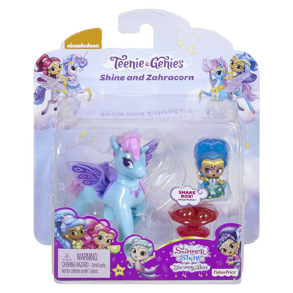 Fisher-Price Shimmer & Shine Teenie Genies Shine en Zahracorn
