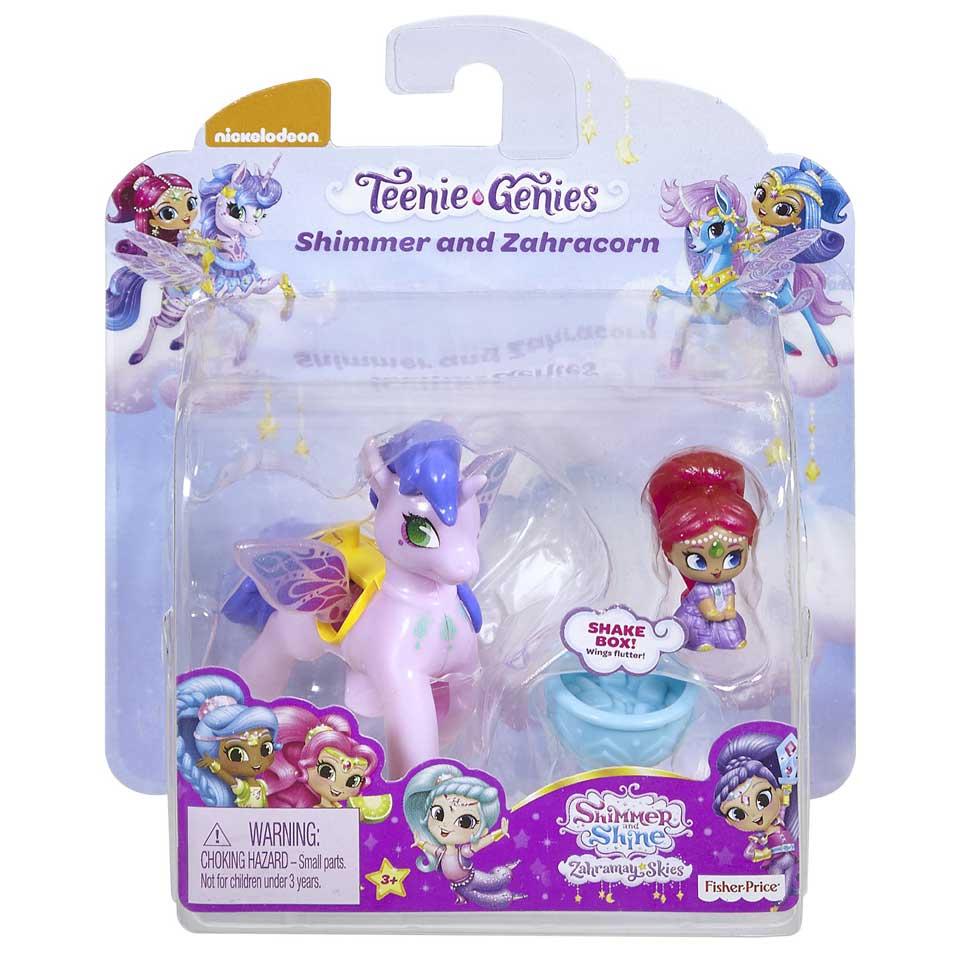 Fisher-Price Shimmer & Shine Teenie Genies Shimmer en Zahracorn