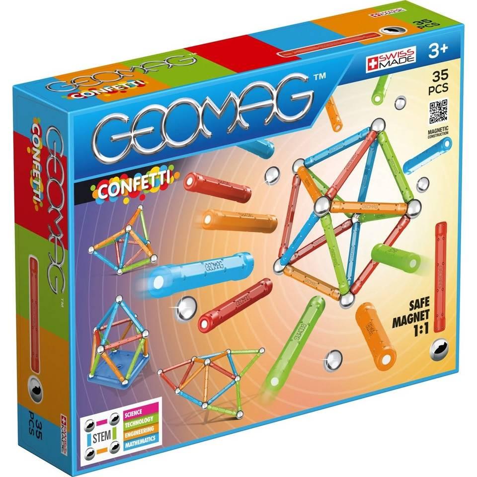 Geomag Confetti 35-delig