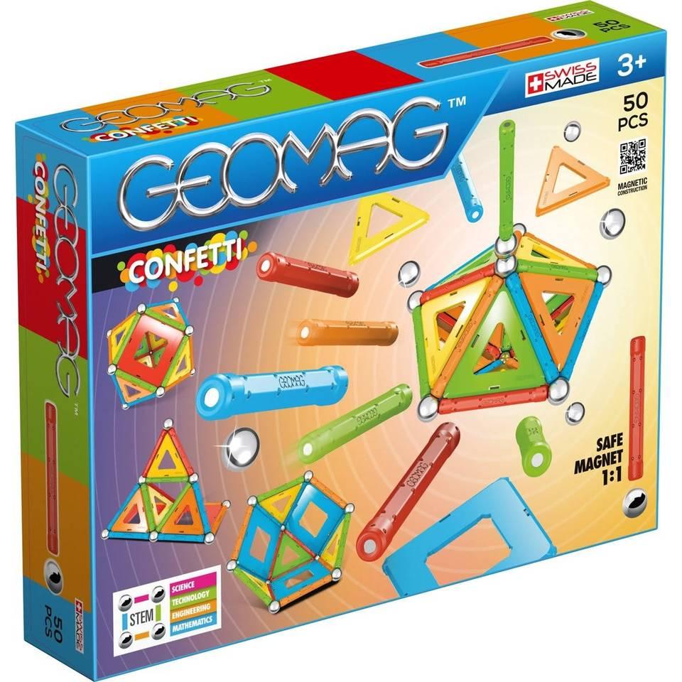 Geomag Confetti 50-delig