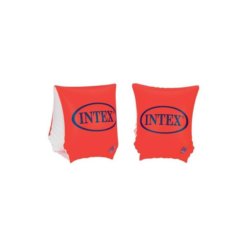 Intex zwembandjes deluxe - 18 t/m 30 kg - oranje