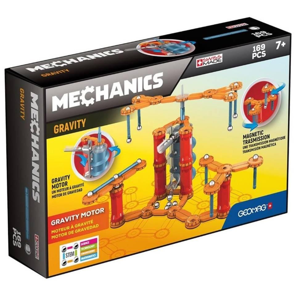 Geomag Mechanics Magnetics Grafity Motor 169-delig