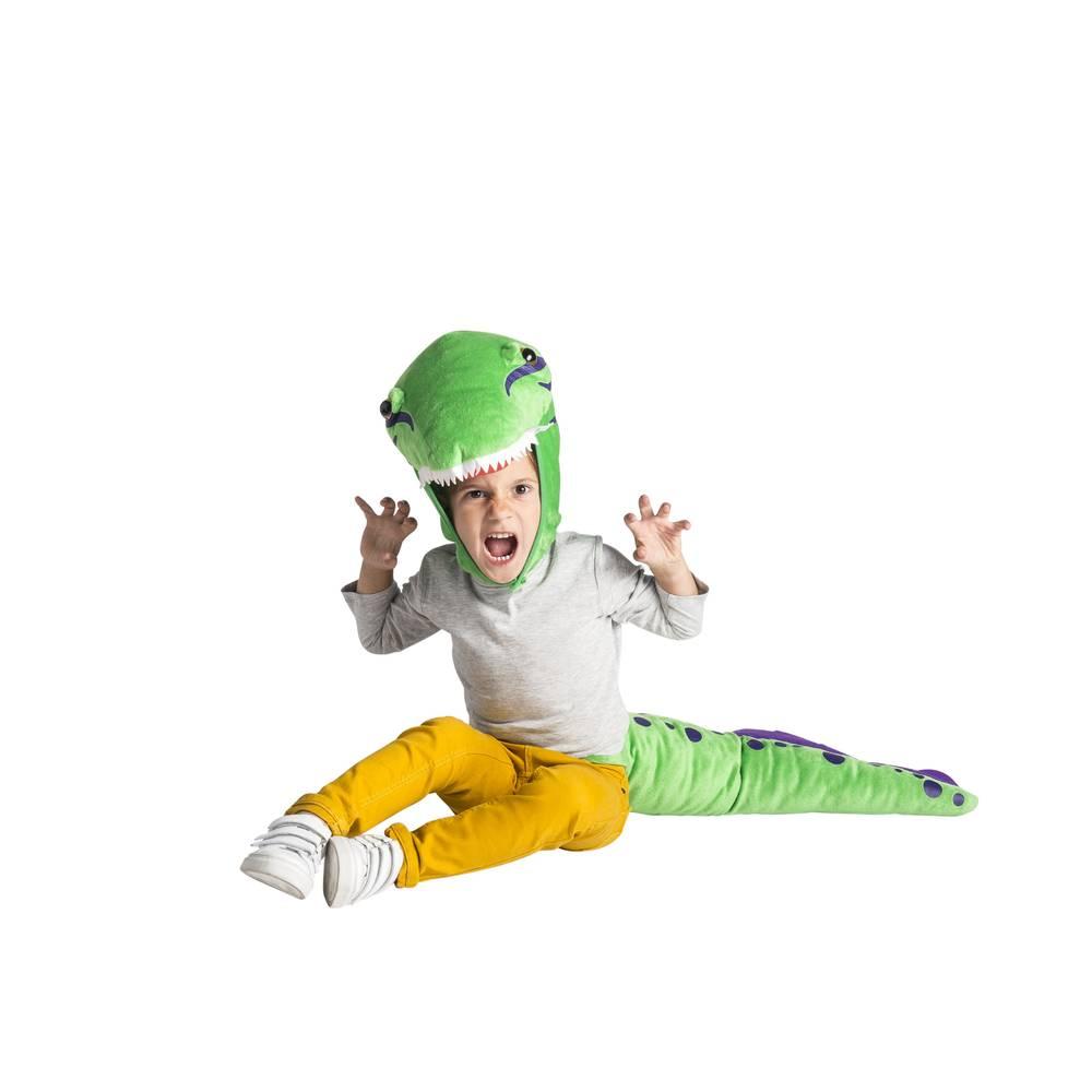 Dino kostuum met staart
