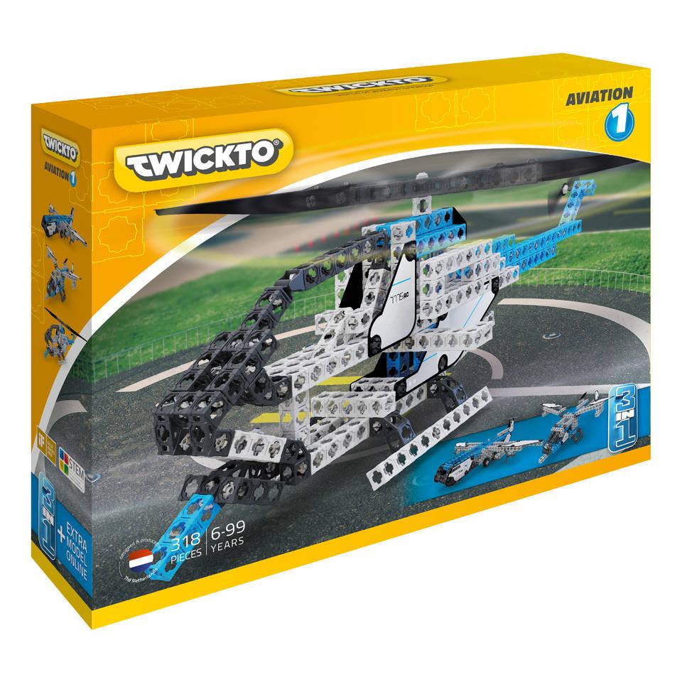 Twickto Aviation 1 bouwpakket 318-delig