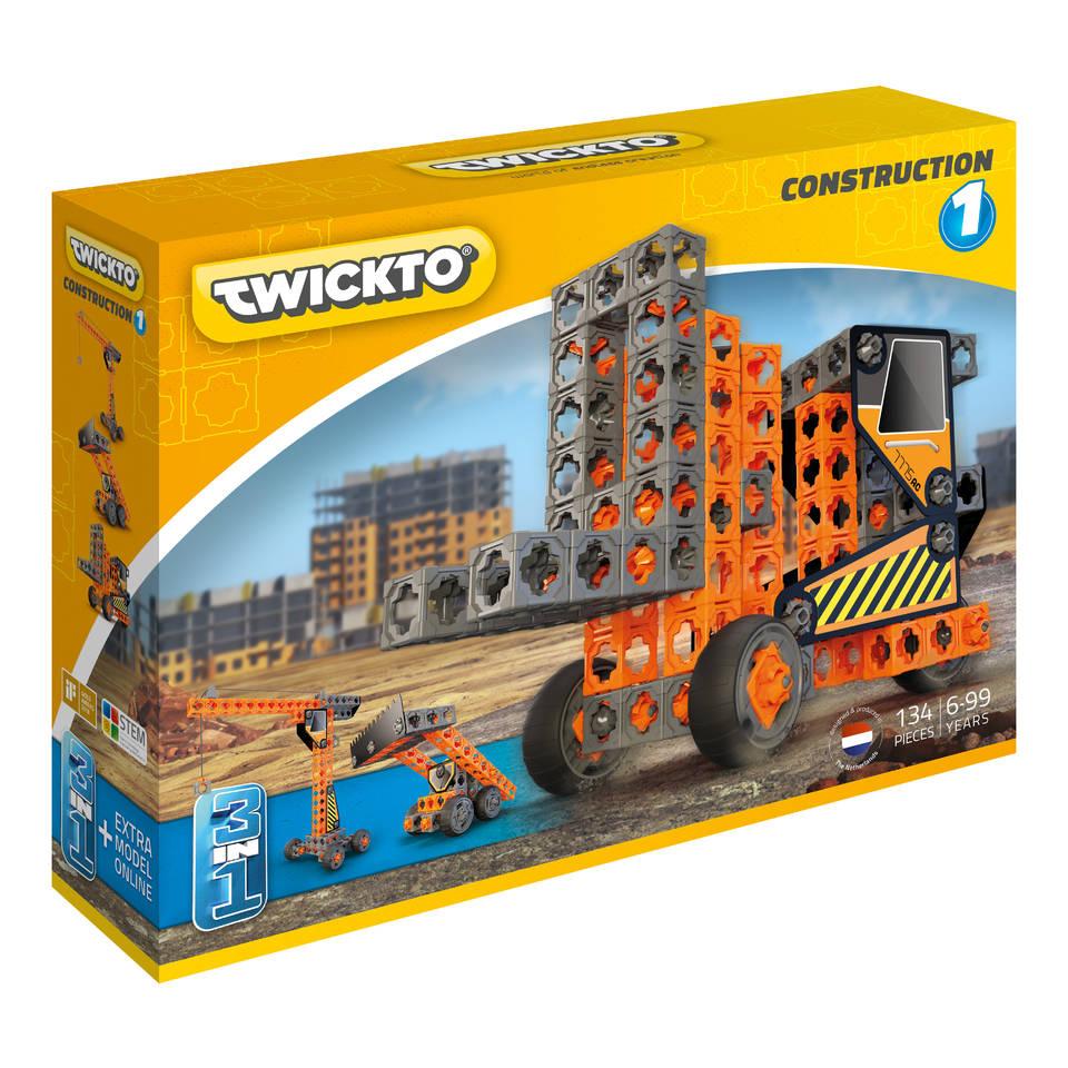 Twickto Construction 1 bouwpakket 134-delig