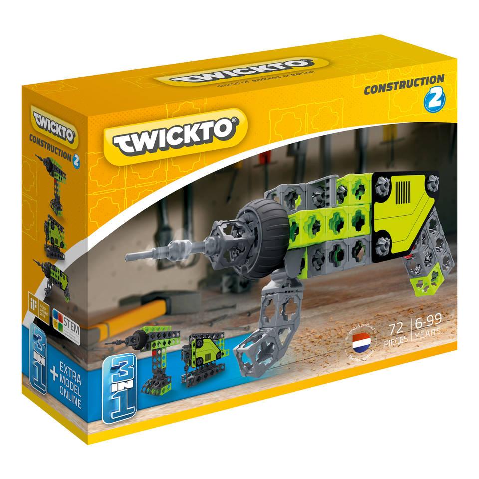 Twickto Construction 2 bouwpakket 72-delig