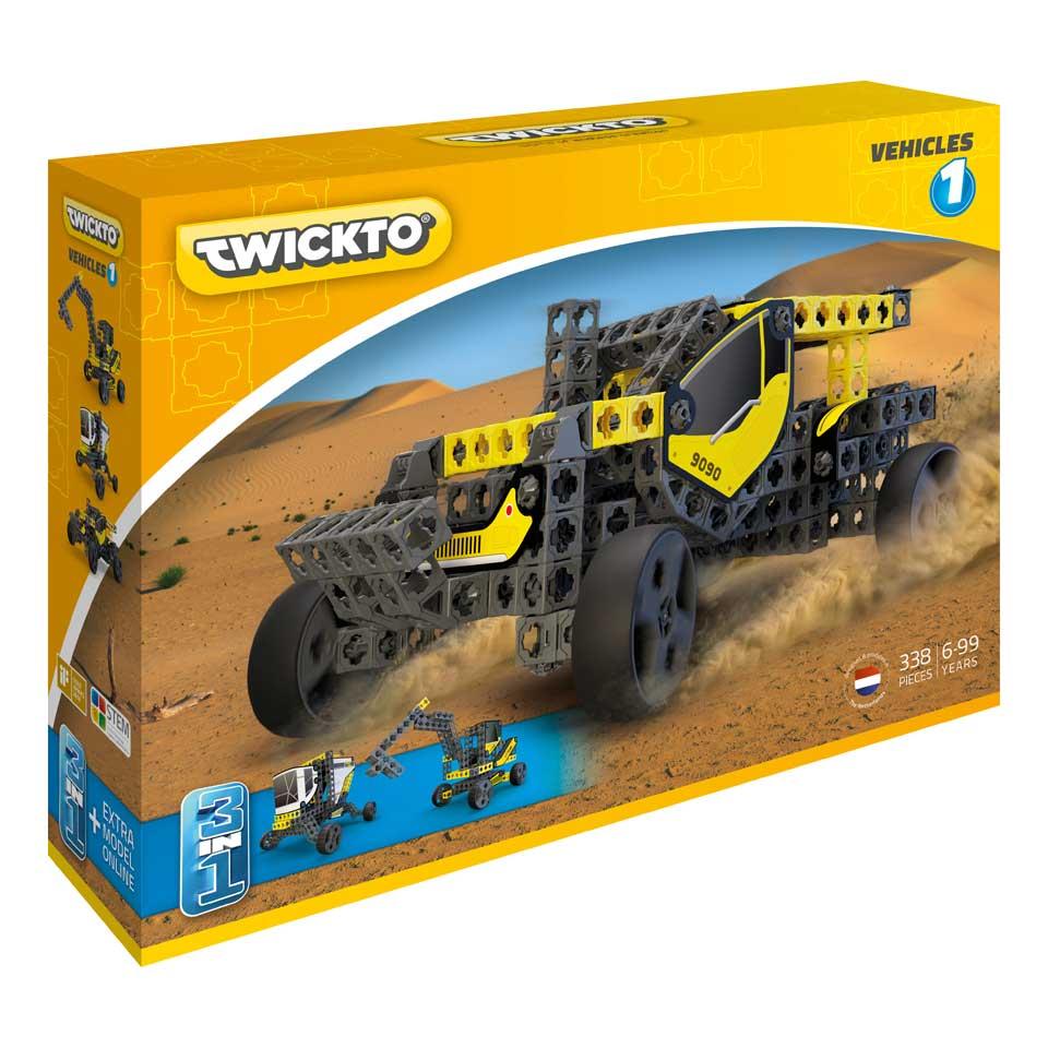 Twickto Vehicles 1 bouwpakket 338-delig