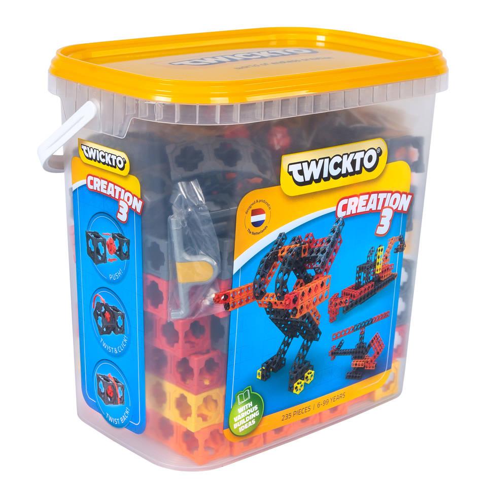 Twickto Creation 3 bouwpakket 235-delig