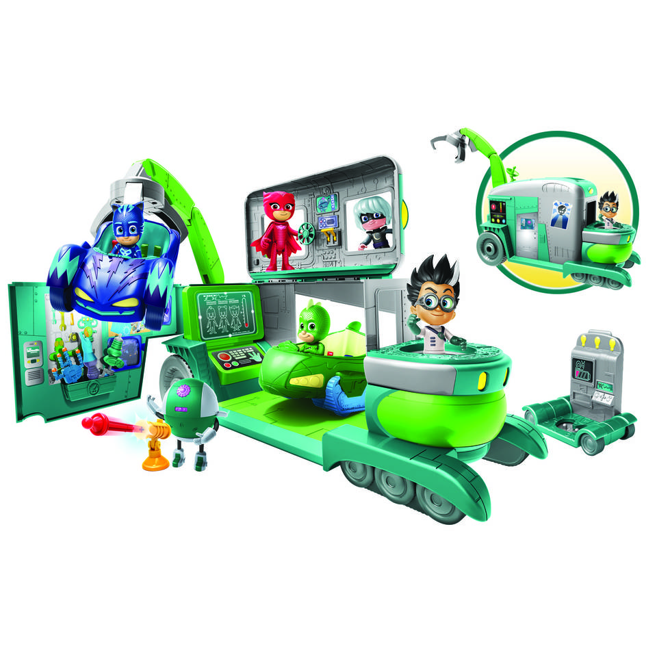 PJ Masks laboratorium van Romeo speelset