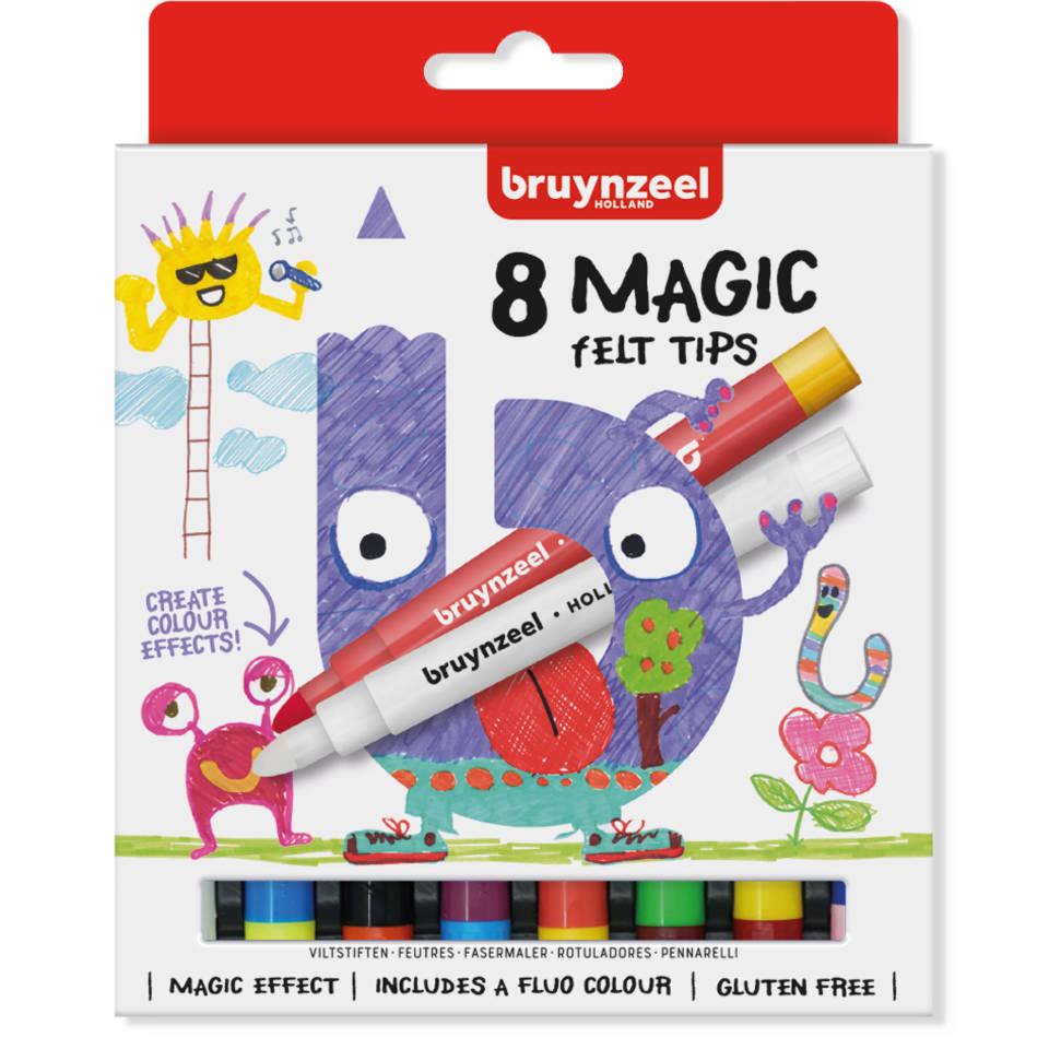 Bruynzeel magische stiften set 8-delig