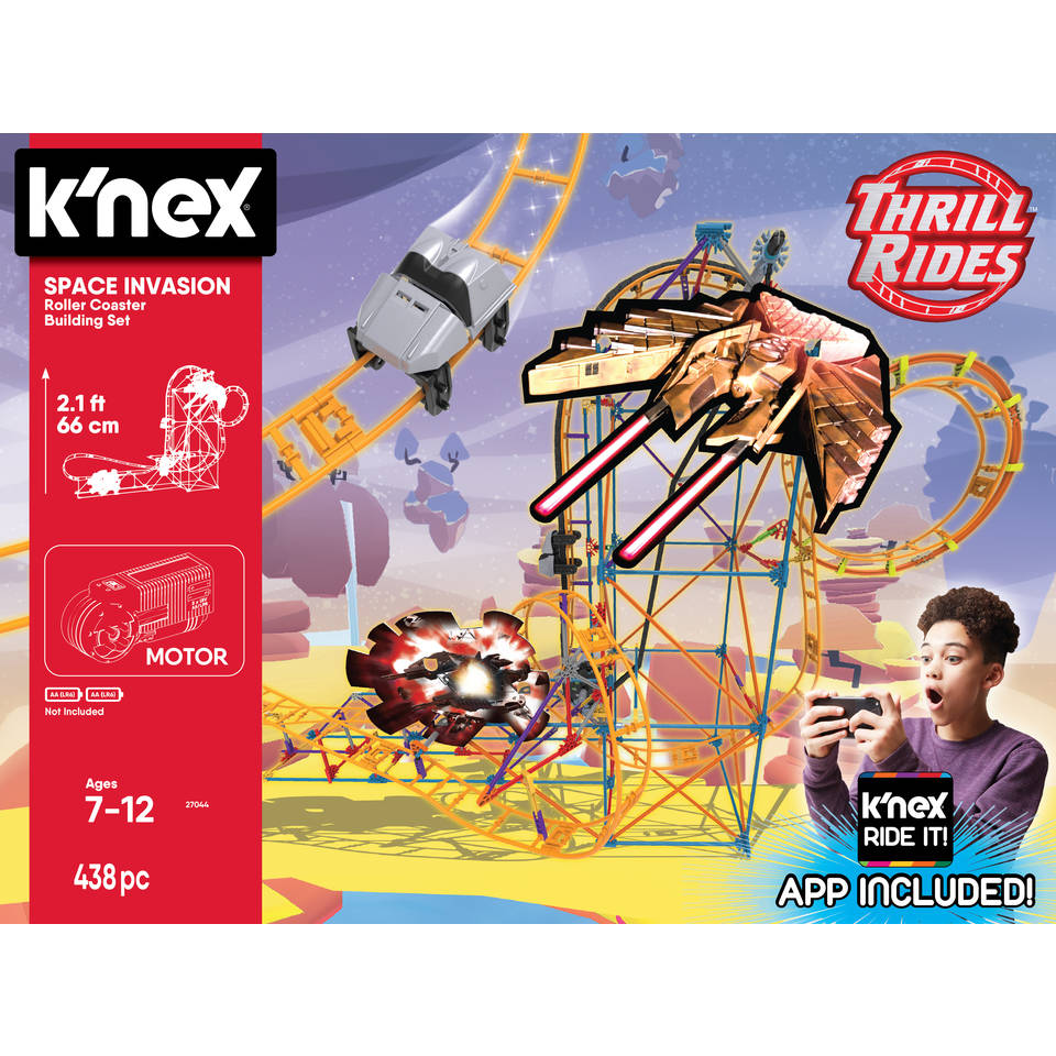 K'NEX Thrill Rides Space Invasion achtbaan