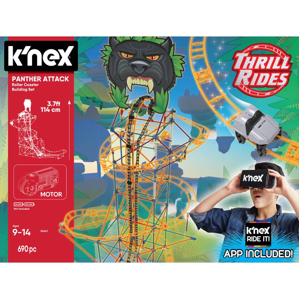 K'NEX Thrill Rides panter aanval achtbaan