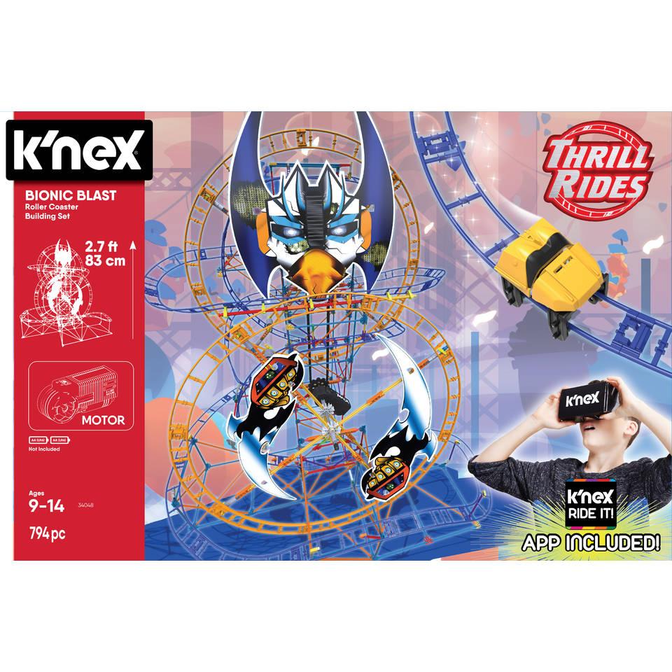 K'NEX Thrill Rides Bionic Blast achtbaan