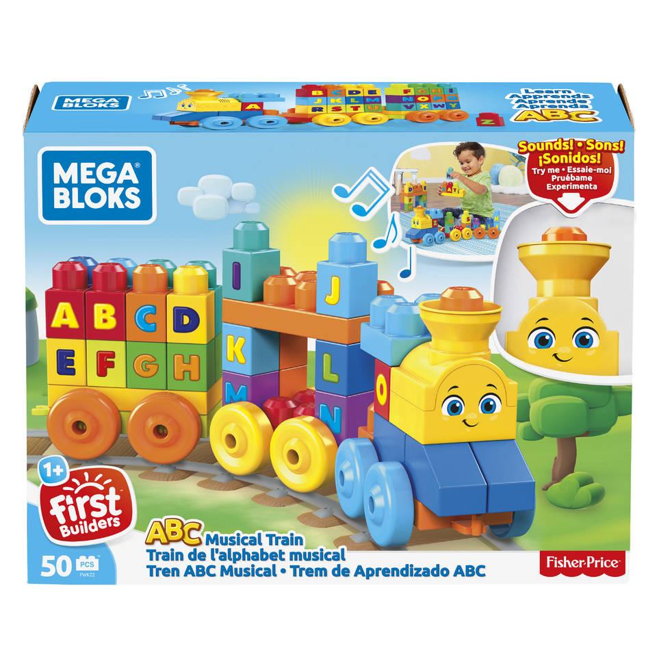 Mega Bloks ABC leertrein