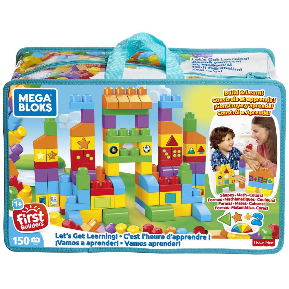 Mega Bloks bouwblokken tas