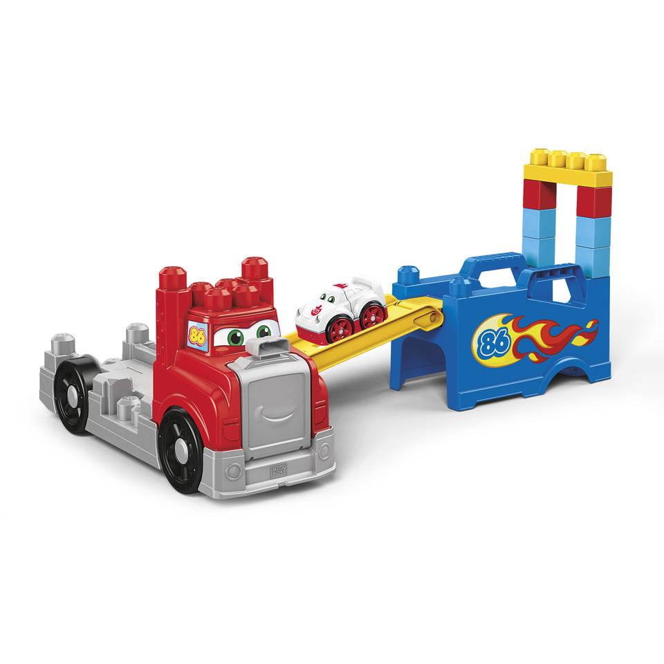Mega Bloks bouwen en race truck
