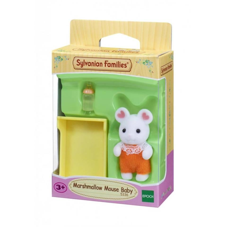 Sylvanian Families baby Marshmellow muis 5336