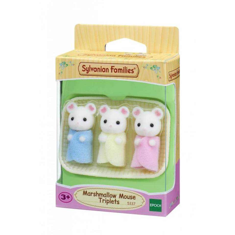 Sylvanian Families drieling Marshmellow Muis 5337