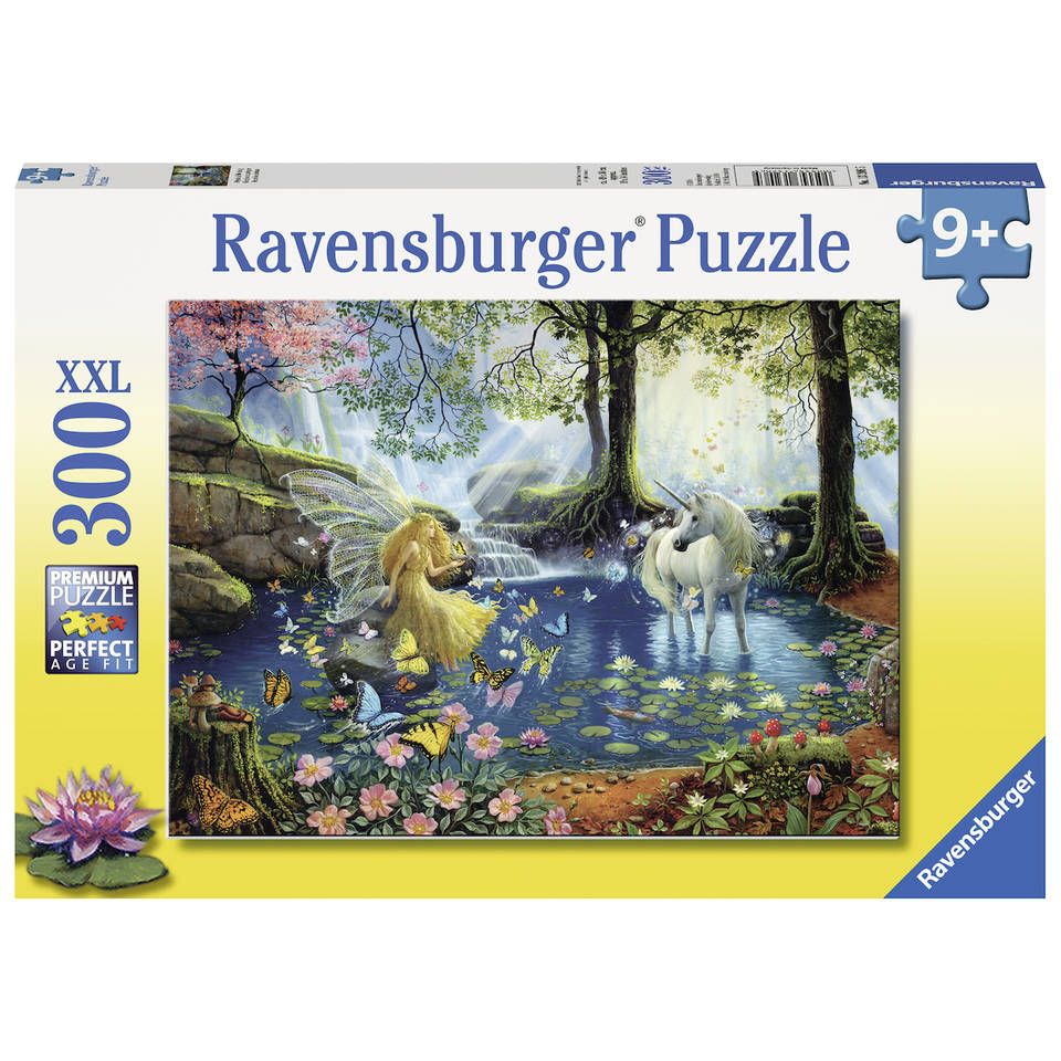Ravensburger puzzel mystieke ontmoeting - 300 stukjes
