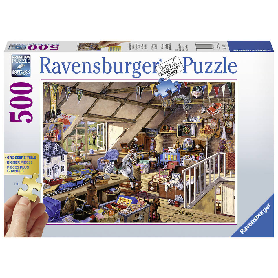 Ravensburger puzzel oma's zolder - 500 stukjes