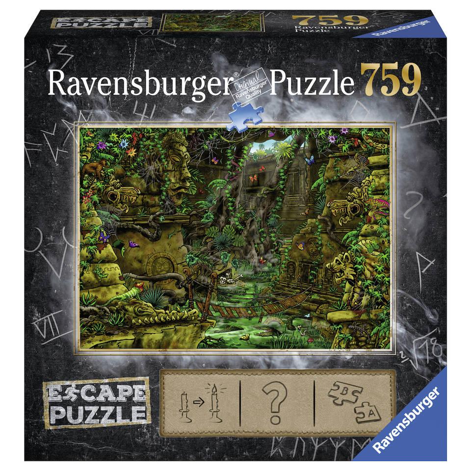 Ravensburger puzzel Escape 2 tempel Ankor Wat - 759 stukjes