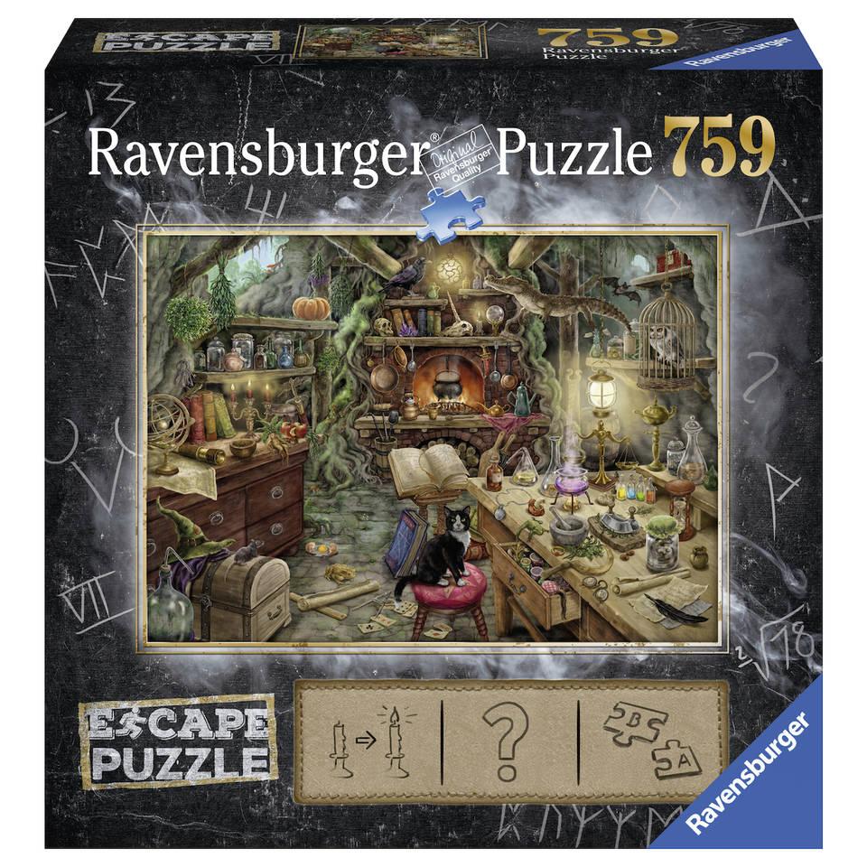 Ravensburger puzzel Escape 3 keuken van de heks - 759 stukjes