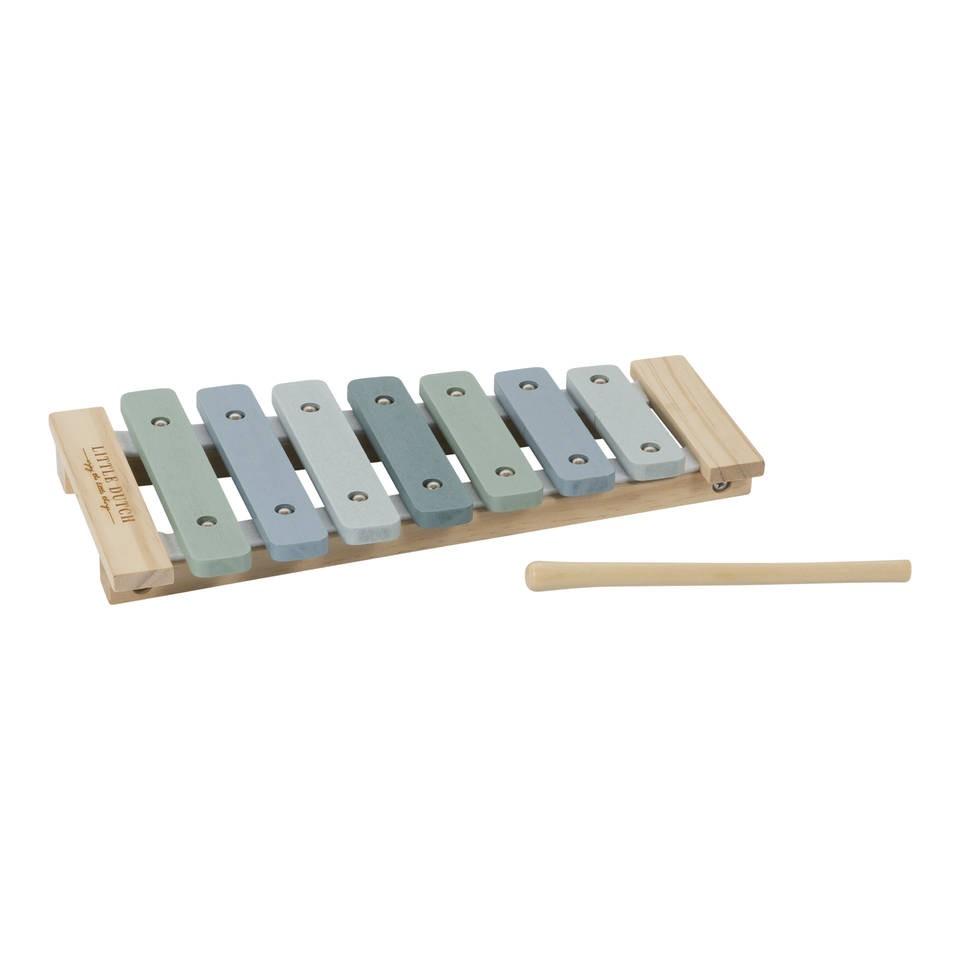 Little Dutch xylofoon Adventure - blauw