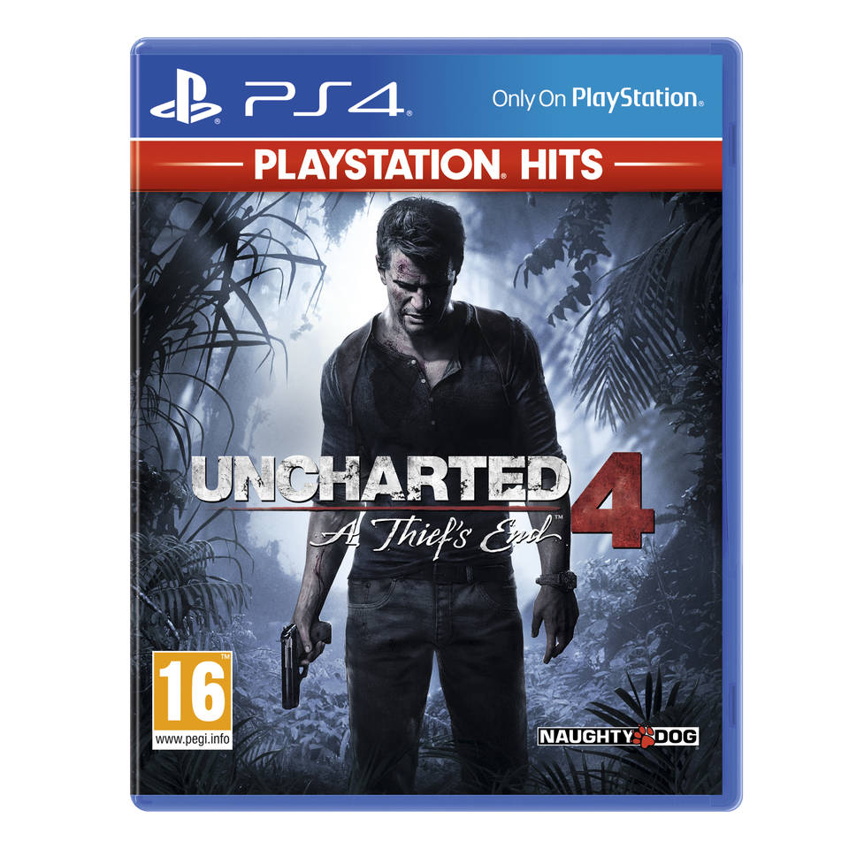 PS4 Hits Uncharted 4: A Thief's End