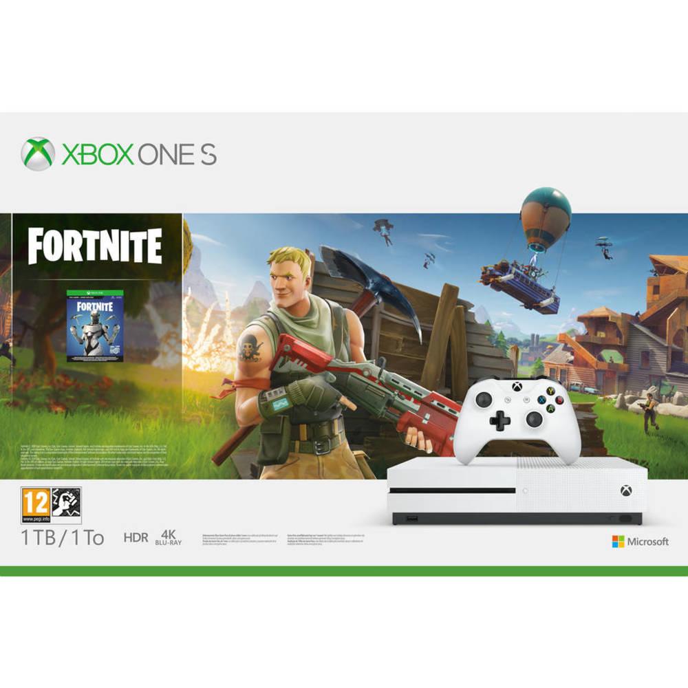 Xbox One S 1TB + Fortnite