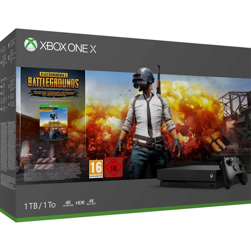 Xbox One X 1TB + PLAYERUNKNOWN'S BATTLEGROUNDS