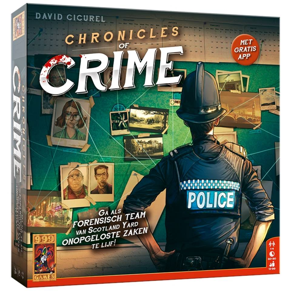 Chronicles of Crime actiespel