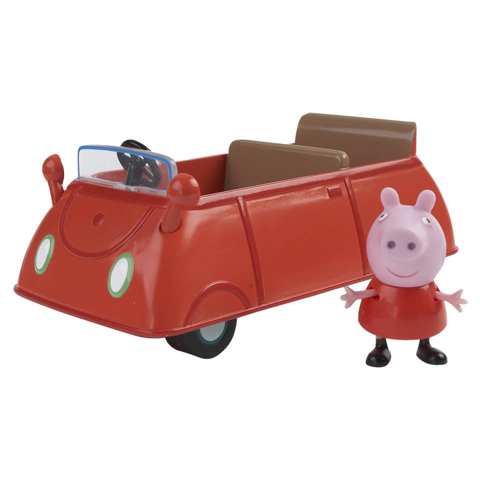 Peppa Pig voertuig met figuur