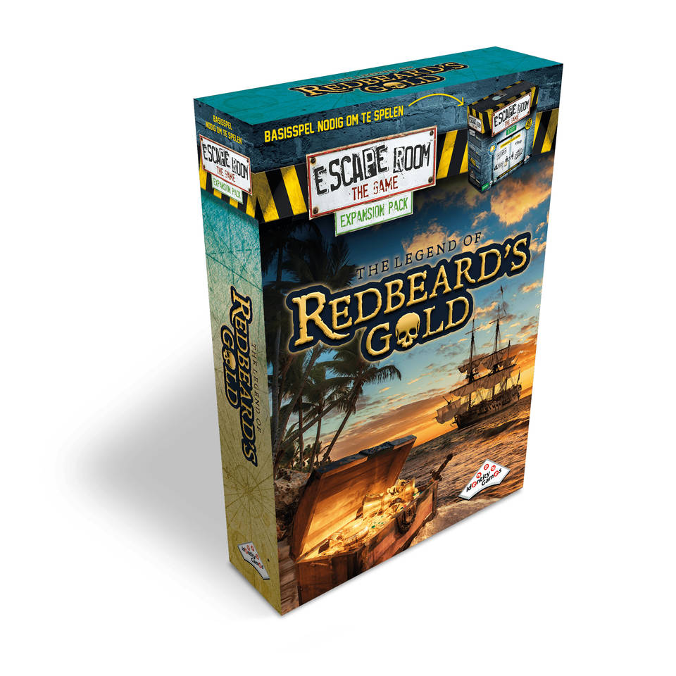 Escape Room: The Game uitbreidingsset The Legend of Redbeard's Gold