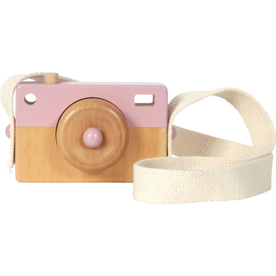 Little Dutch houten camera - roze
