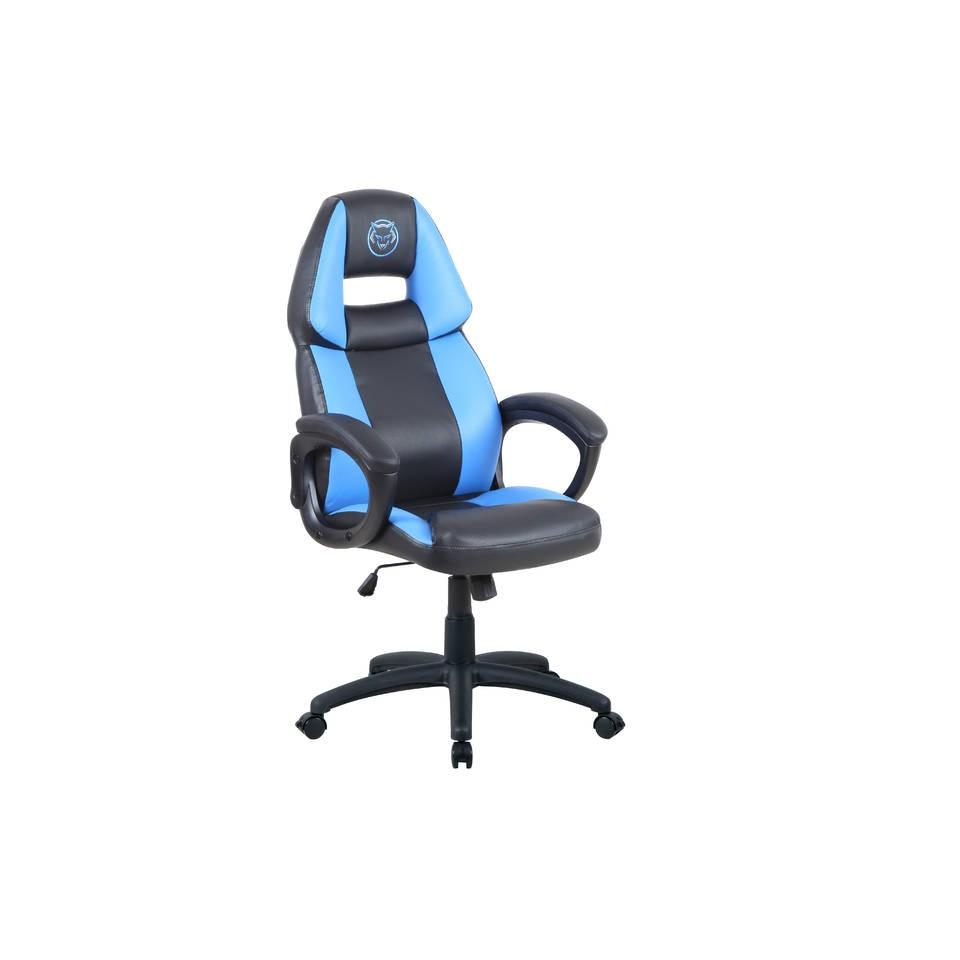 Qware Seat Pro Castor gaming stoel - blauw