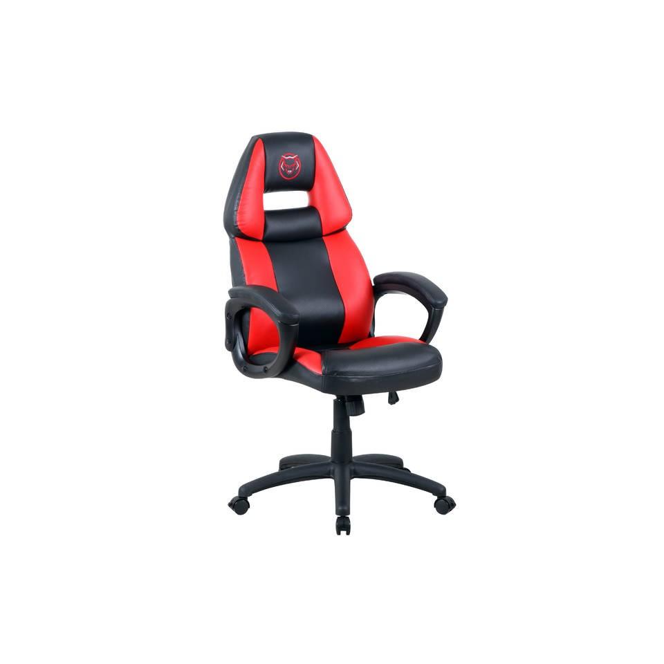 Qware Seat Pro Castor gaming stoel - rood