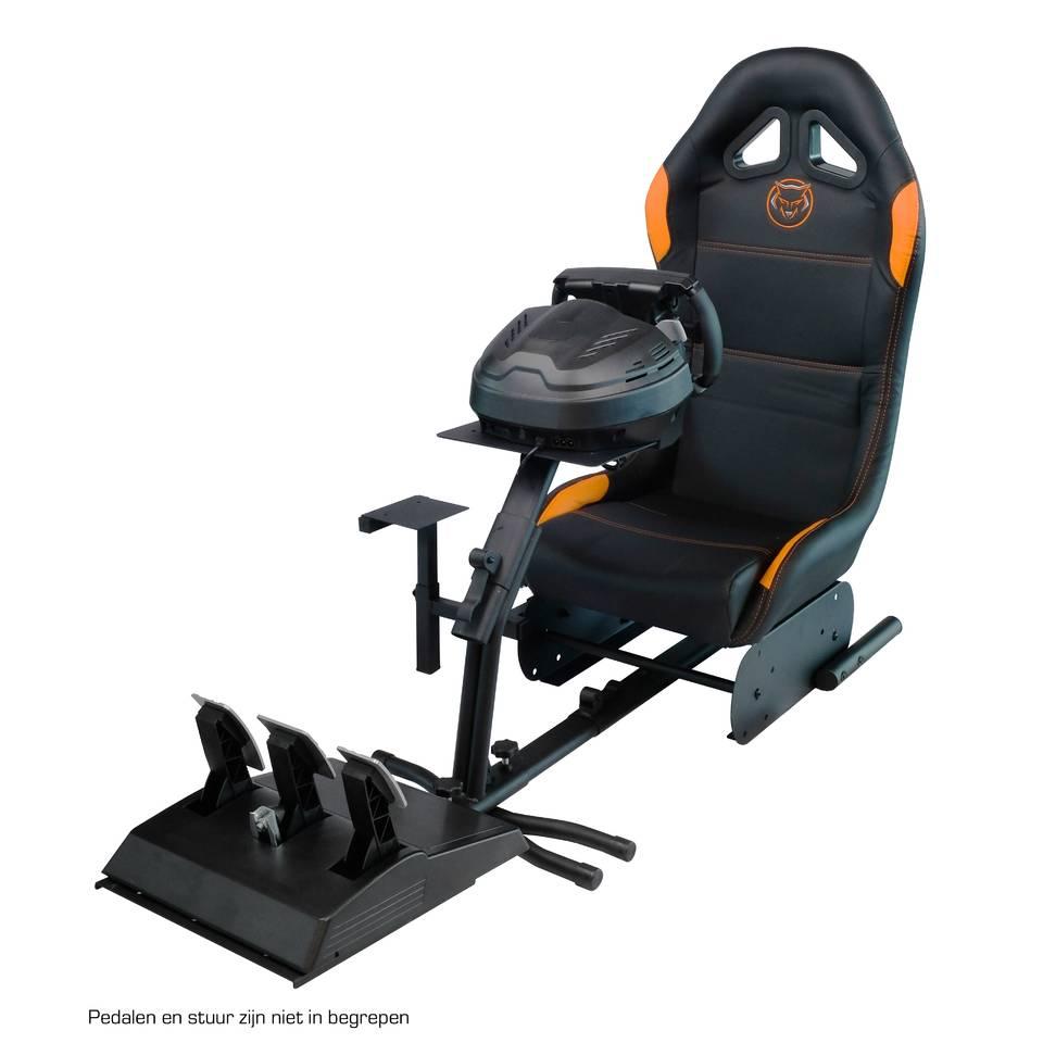 Qware gaming stoel Race Seat MAX - oranje