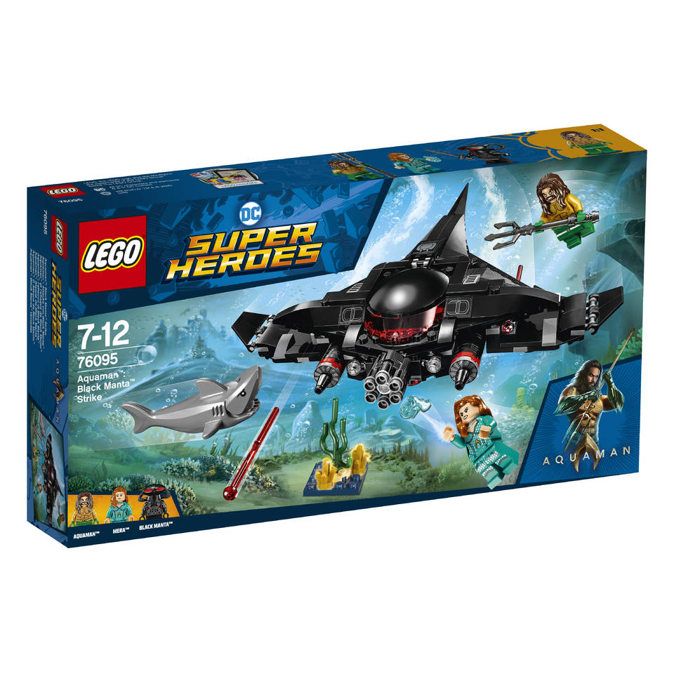 LEGO DC Super Heroes Aquaman Black Manta aanval 76095