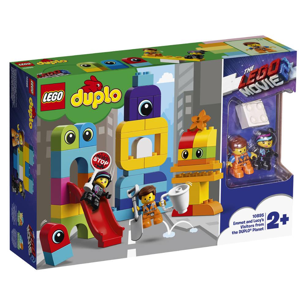 LEGO DUPLO visite voor Emmet en Lucy van de DUPLO planeet 10895