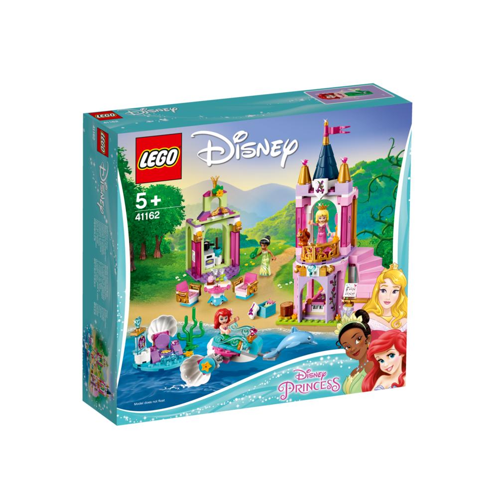 LEGO Disney Princess Ariëls, Doornroosjes en Tiana's koninklijke viering 41162