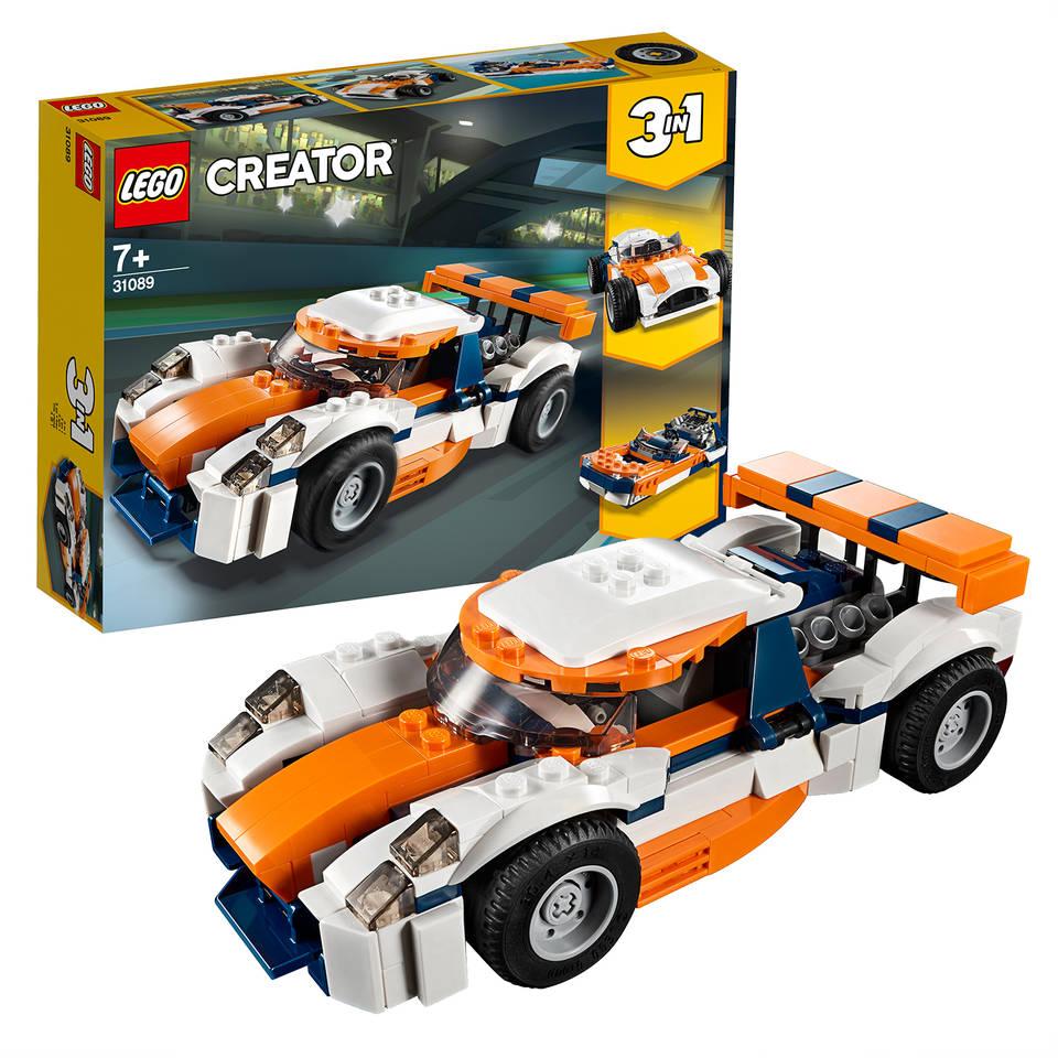 LEGO Creator Zonsondergang baanracer 31089