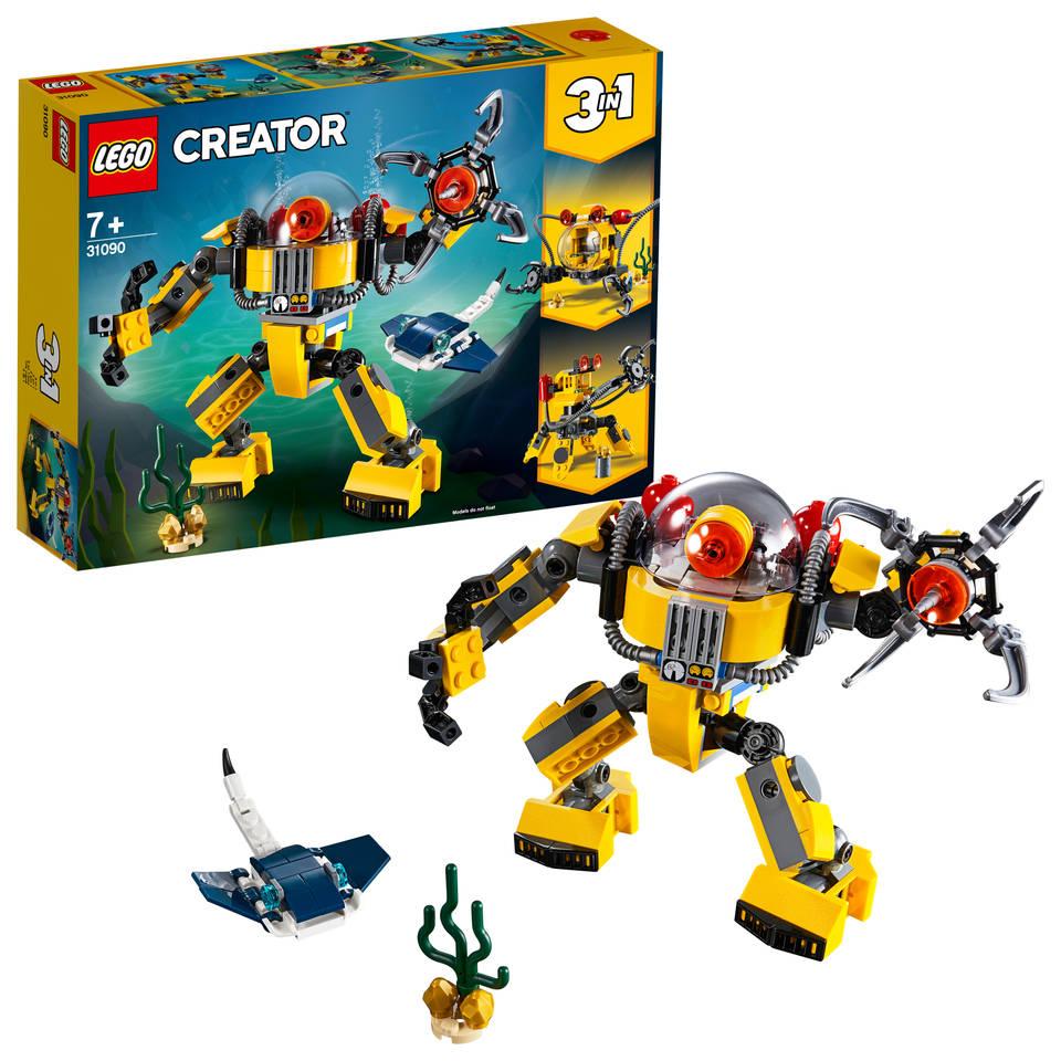 LEGO Creator onderwaterrobot 31090