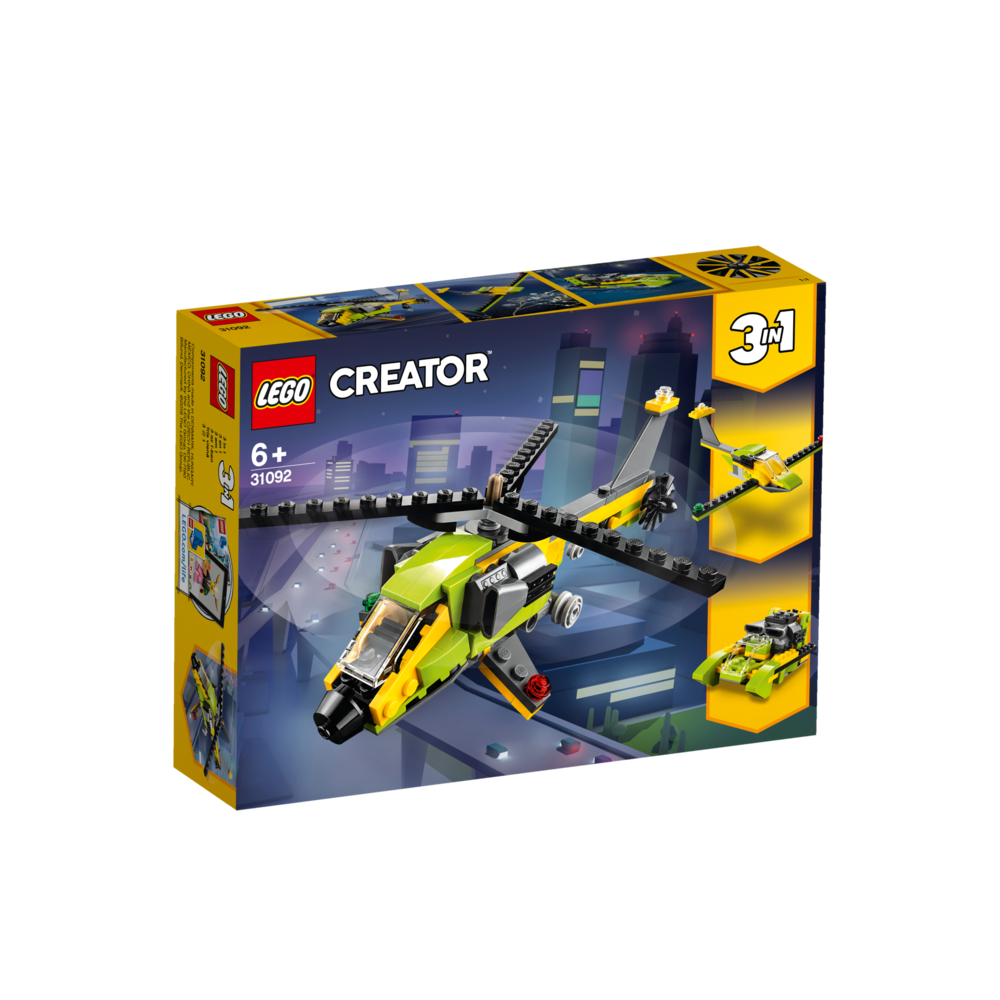 LEGO Creator helikopter avontuur 31092