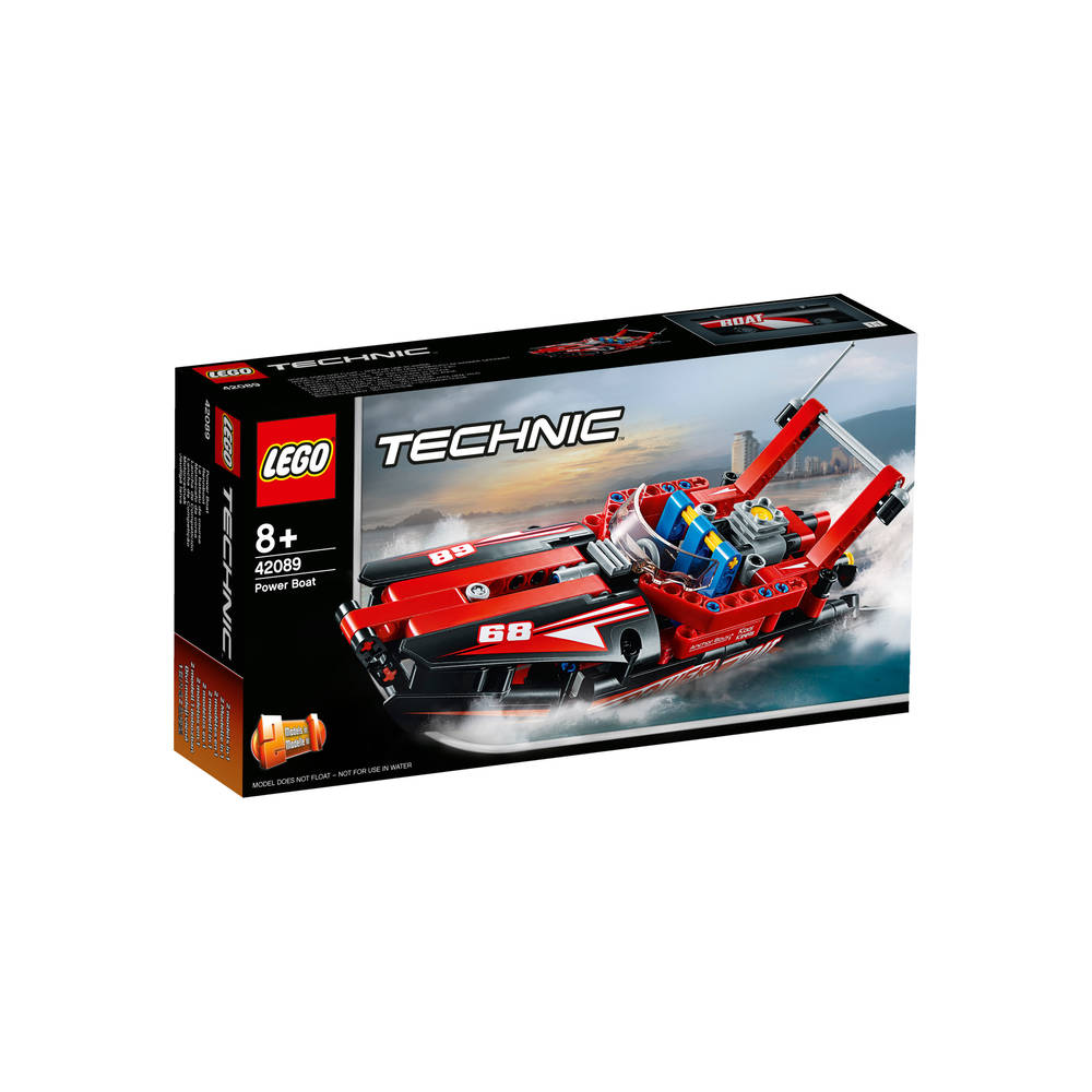 LEGO Technic powerboat 42089