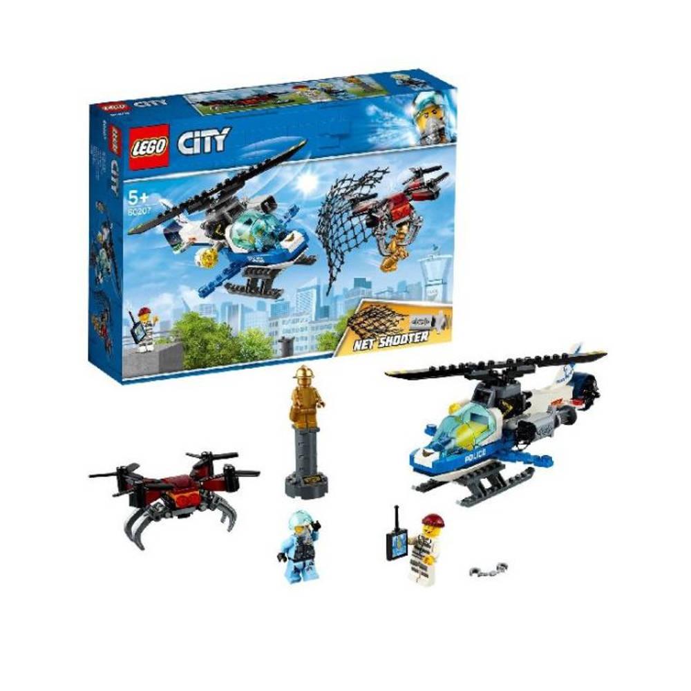 LEGO City luchtpolitie drone-achtervolging 60207