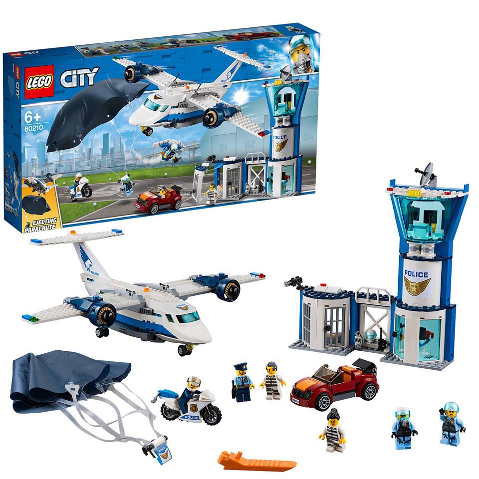 LEGO City Luchtpolitie luchtmachtbasis 60210