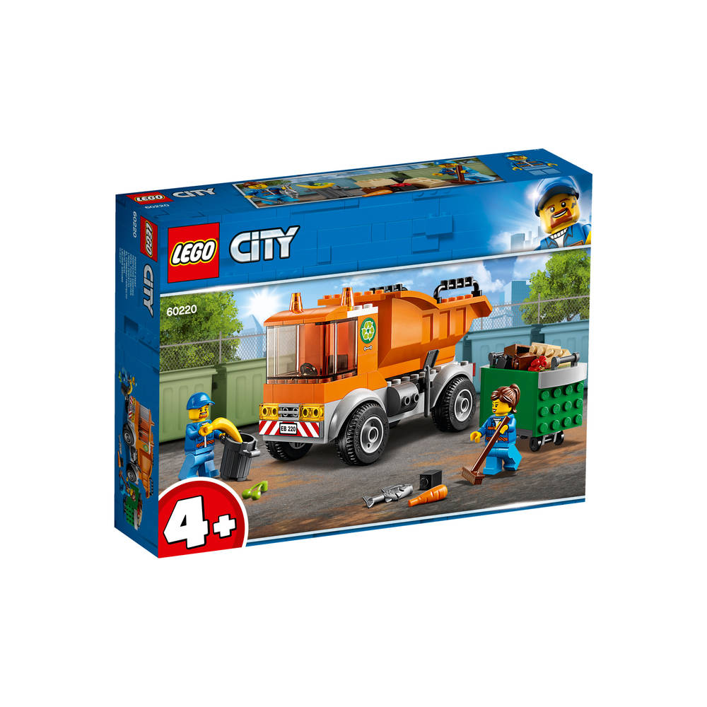 LEGO City vuilniswagen 60220